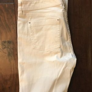 Cream Jean Never Worn